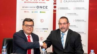 Convenio entre Fundación Caja Navarra y Fundación ONCE