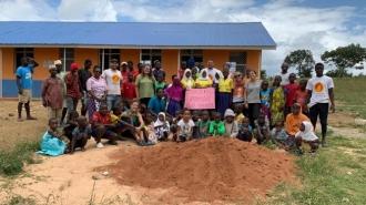 Escuela rural en Kenia con la colaboración de Fundación Caja Navarra