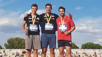 Gran actuación del atletismo navarro en los Campeonatos de España