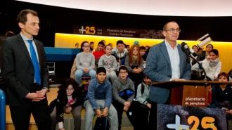 Acto con Pedro Duque en el Planetario