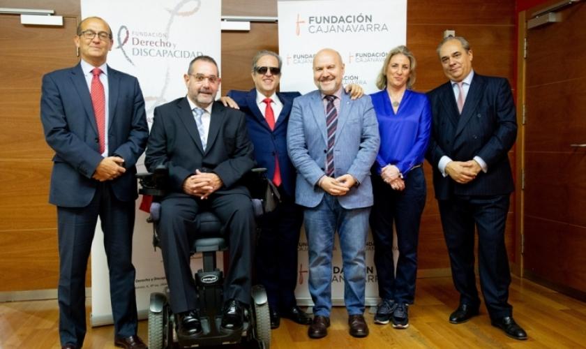 Convenio entre Fundación Caja Navarra y Fundación Derecho y Discapacidad