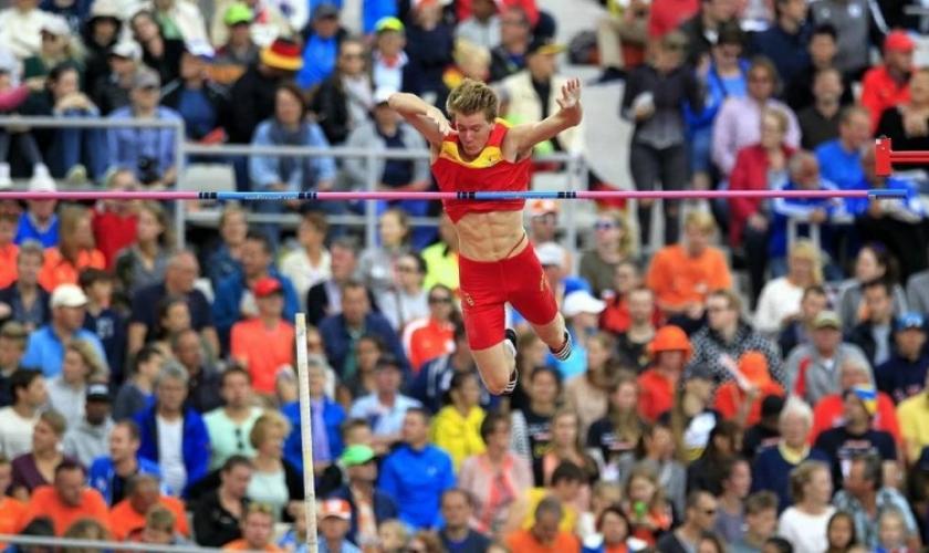 Adrián Vallés participó del Campeonato del Mundo de Atletismo de Londres