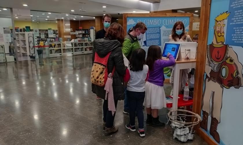 Más de 600 personas han visitado el Aula Medioambiental de CIVICAN