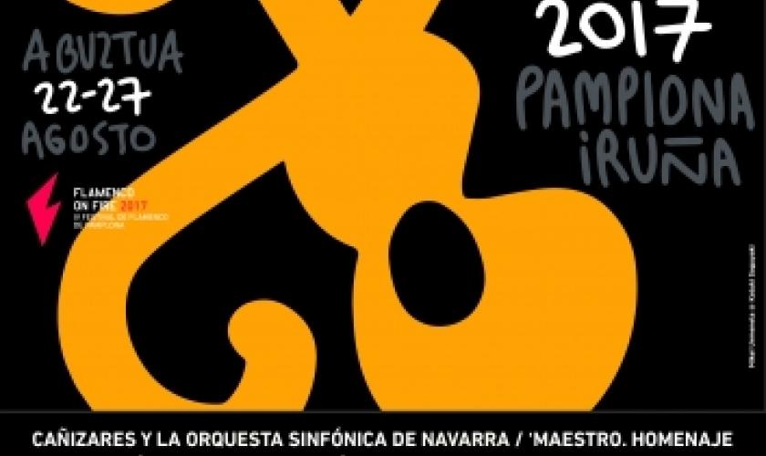 Fundación Caja Navarra vuelve a colaborar con el Flamenco on Fire