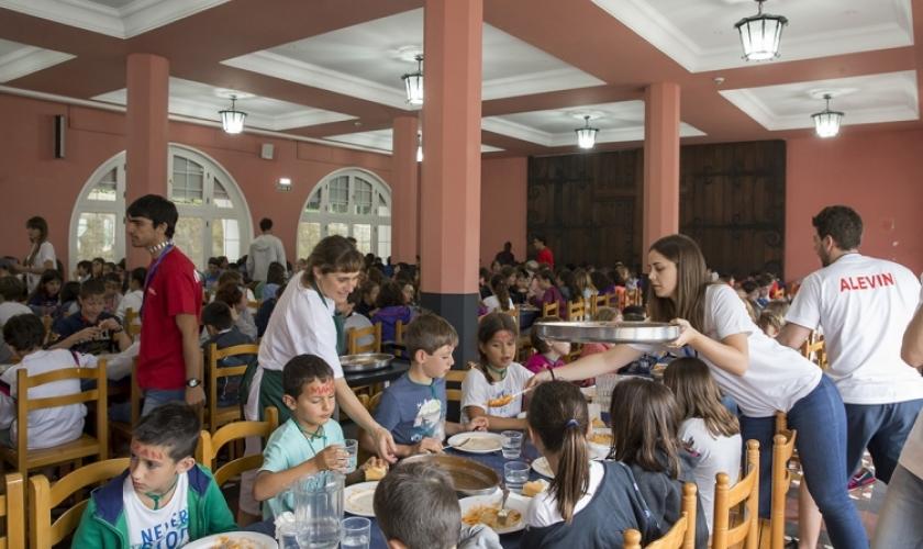 Campus Hondarribia cuida la alimentación