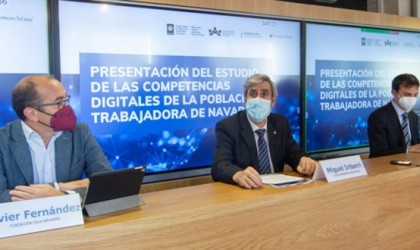 Estudio de las competencias digitales de la población trabajadora de Navarra