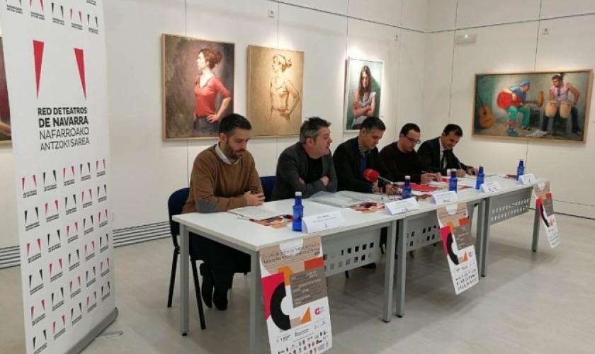 Fundación Caja Navarra colabora con el Circuito de la Red Navarra de Teatros