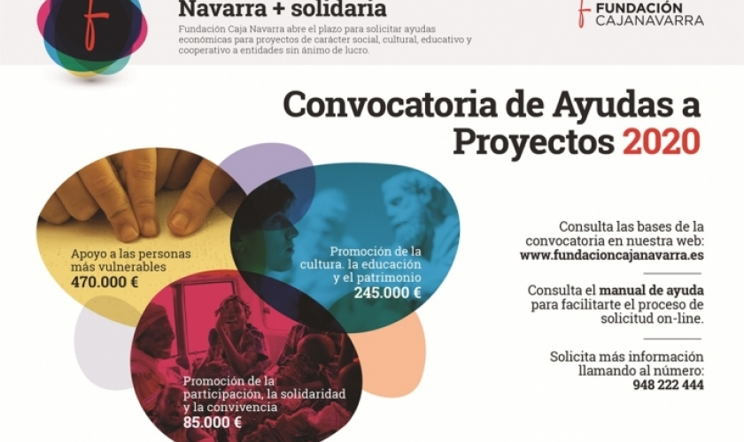 Cerrado el plazo de presentación de proyectos para la Convocatoria de Ayudas