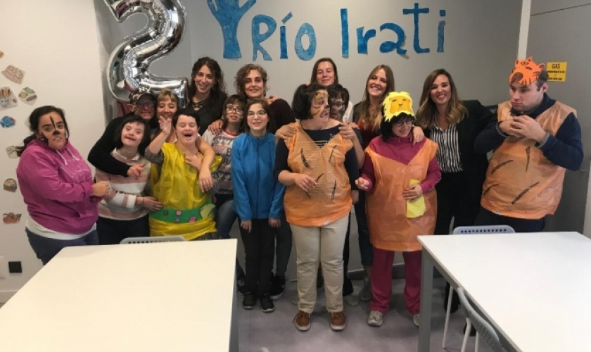 Segundo aniversario del Centro Río Irati
