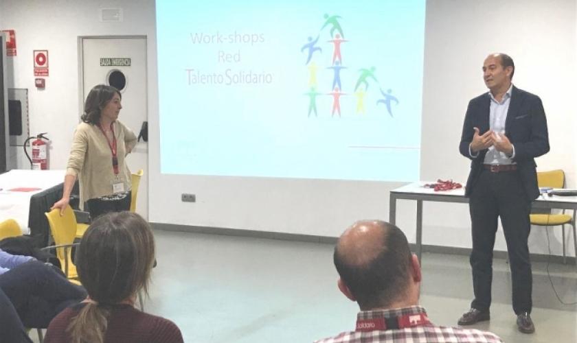 Work-shops de la red Talento Solidario