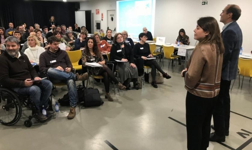 Taller colaborativo InnovaSocial entre entidades y empresas