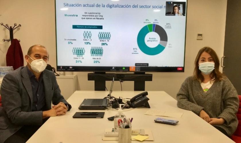 Informe sobre digitalización en el Tercer Sector de Navarra