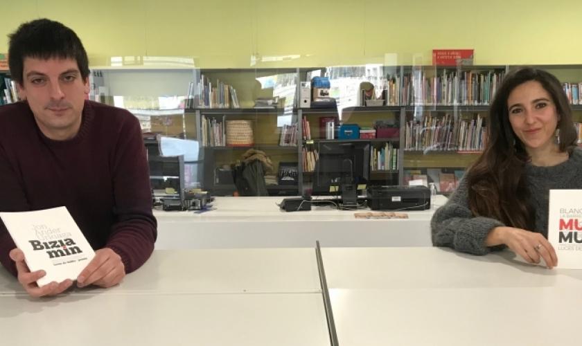 Blanca Berjano eta Jon Ander Urkiaga, Nafarroako Kutxa Fundazioaren Poesia Gaztea Sariaren irabazle