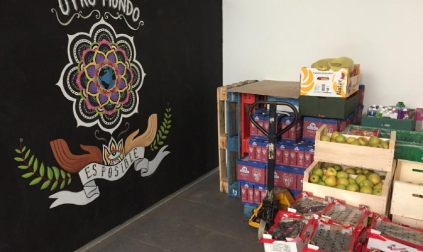 """Visita a proyecto de """"Cestas básicas"""" para familias de Paris365"""