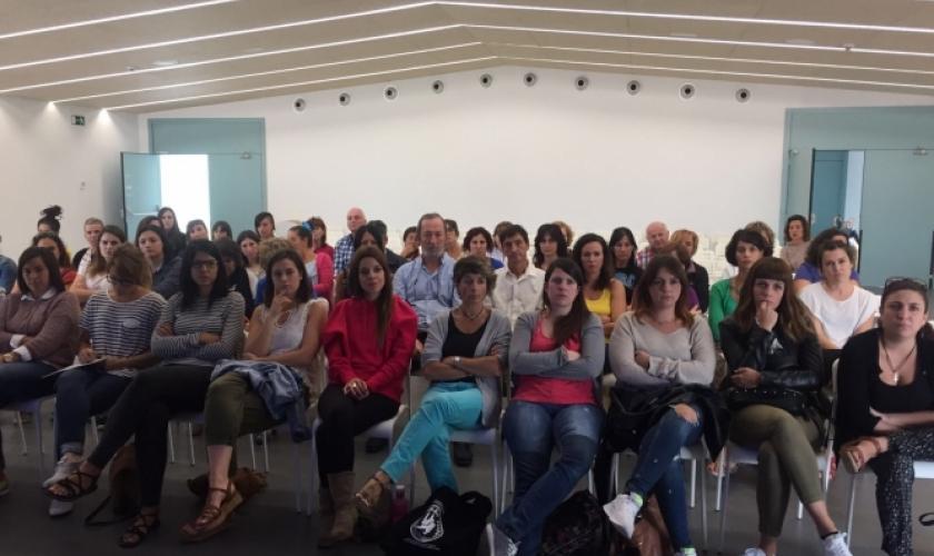 Reunión de los profesionales de Isterria
