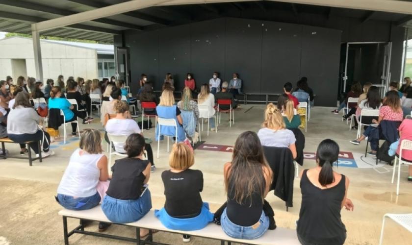 Reunión de apertura del nuevo curso en Isterria