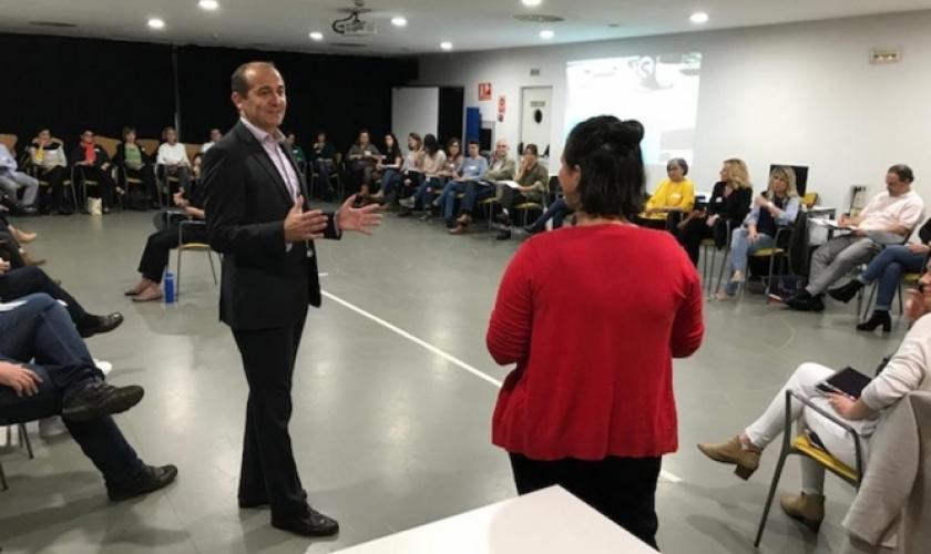Sesión de networking de InnovaSocial