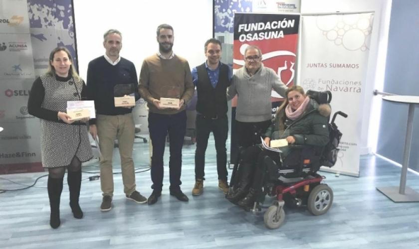 Reconocimiento de Fundaciones de Navarra a Fundación Caja Navarra