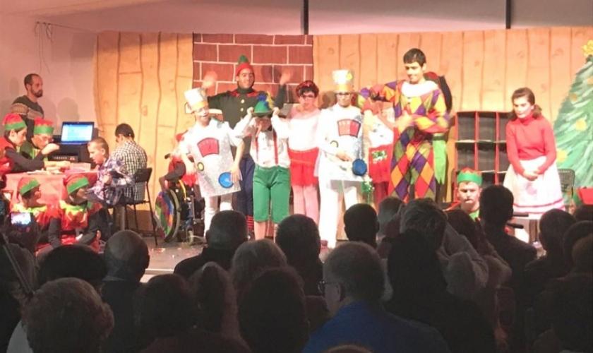 Fiesta de Navidad en Isterria y Río Irati