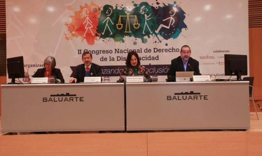 Clausura del II Congreso de Derecho de la Discapacidad