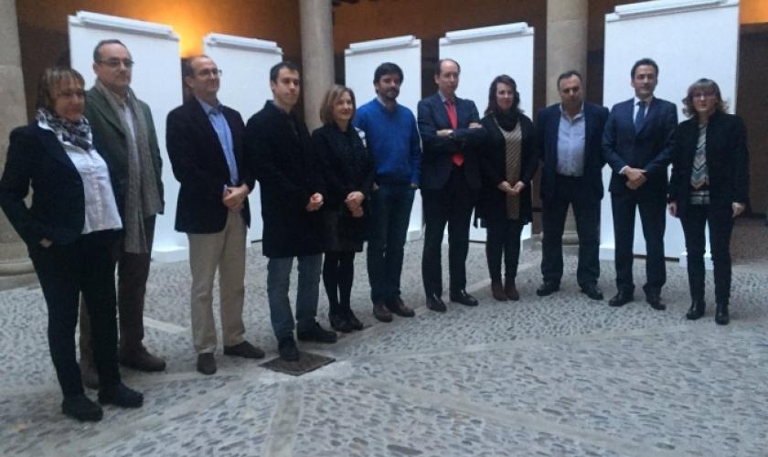 Entrega de premios de investigación de UNED en Tudela