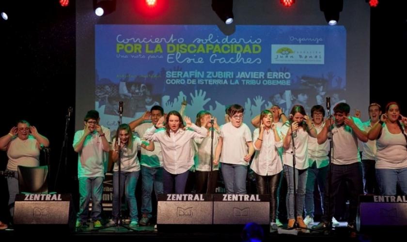 Isterria en el Concierto Solidario por la Discapacidad