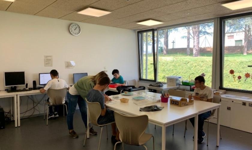 Las aulas del colegio Isterria cuentan con un alumnado de 100 personas este curso