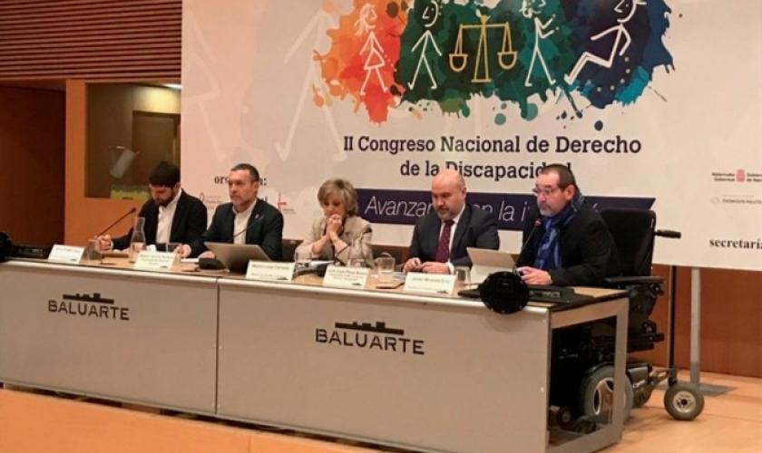 Inauguración del Congreso de Derecho de la Discapacidad