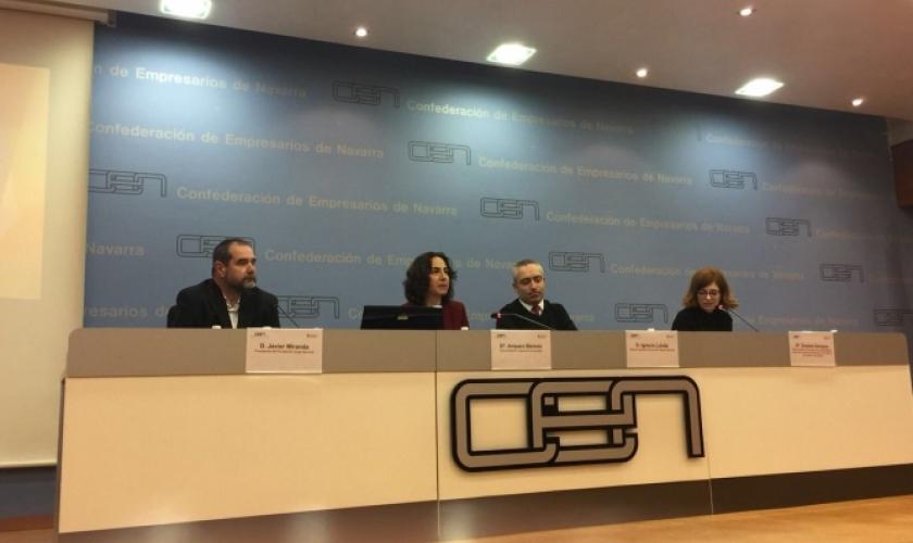 Fundación Caja  Navarra participa en una mesa redonda sobre responsabilidad social