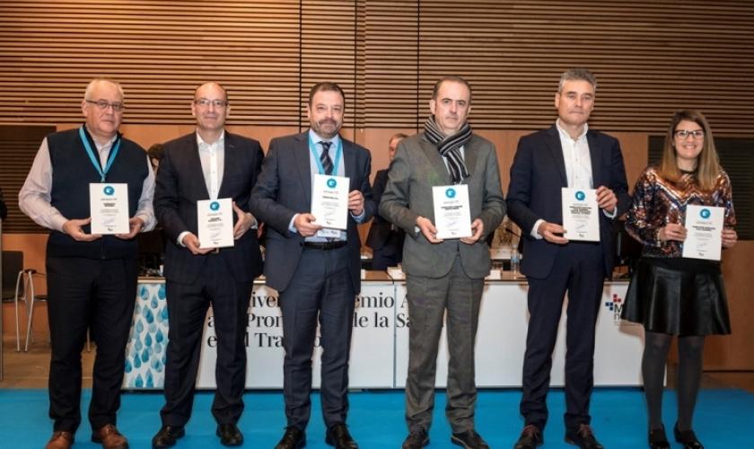 Fundación Caja Navarra e Isterria, en el décimo aniversario del Sello Azul