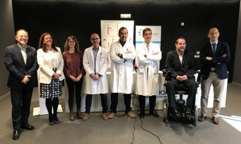 Presentación de proyectos de investigación de Navarrabiomed