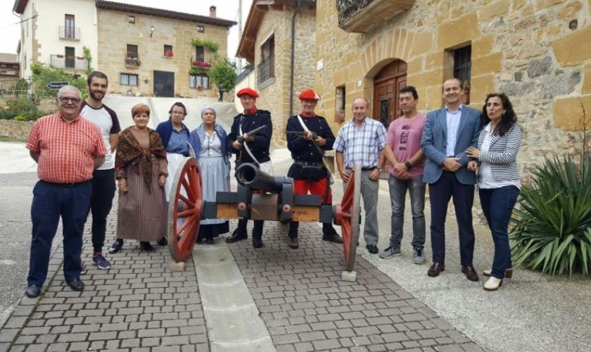 Recreación histórica en Lácar