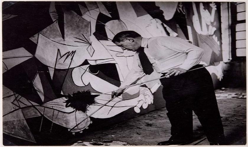 """""""Picasso. El viaje del Guernica"""" en Tudela"""