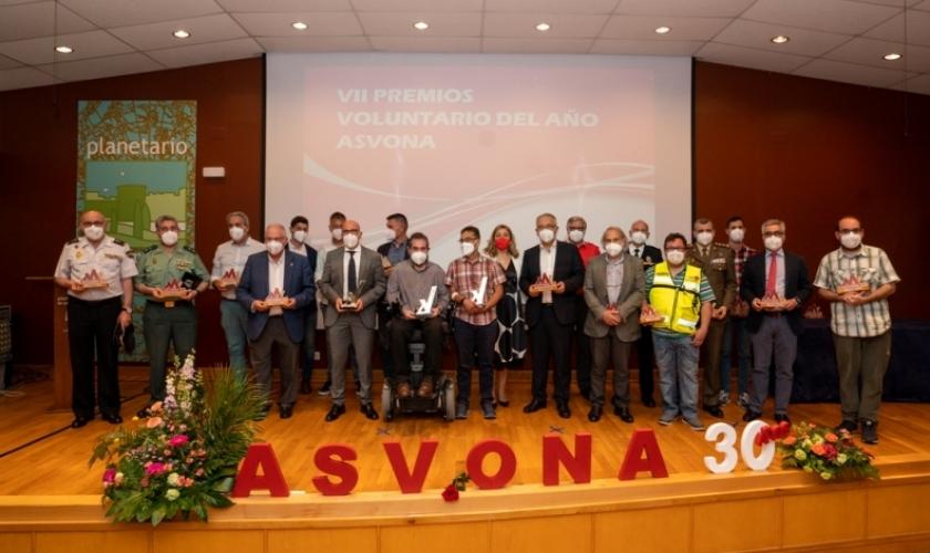 Fundación Caja Navarra distinguida por ASVONA