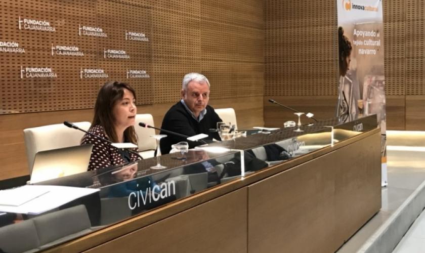 """Fundación Caja Navarra y Fundación """"la Caixa"""" destinan 500.000 euros para el programa InnovaCultural"""
