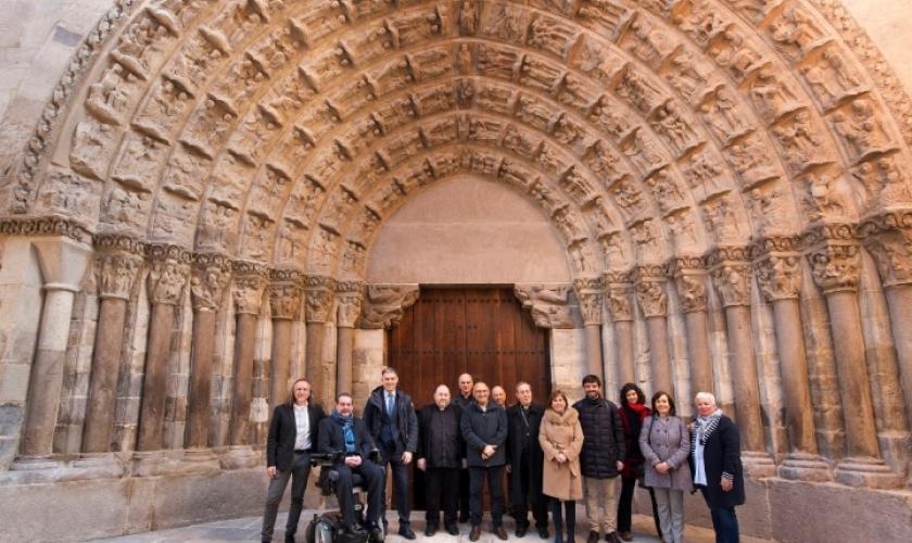 Restaurada la Puerta del Juicio de Tudela