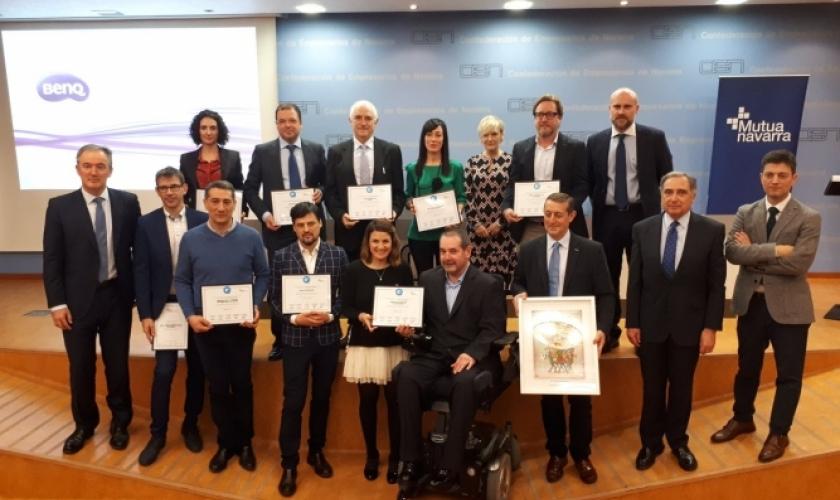 Entrega del Sello Azul a Fundación Caja Navarra