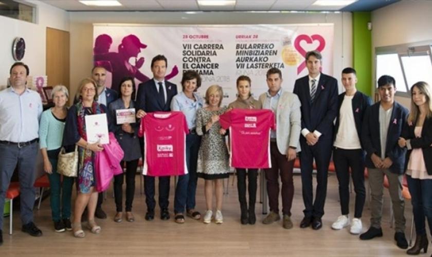 VII Carrera contra el cáncer de mama de Saray