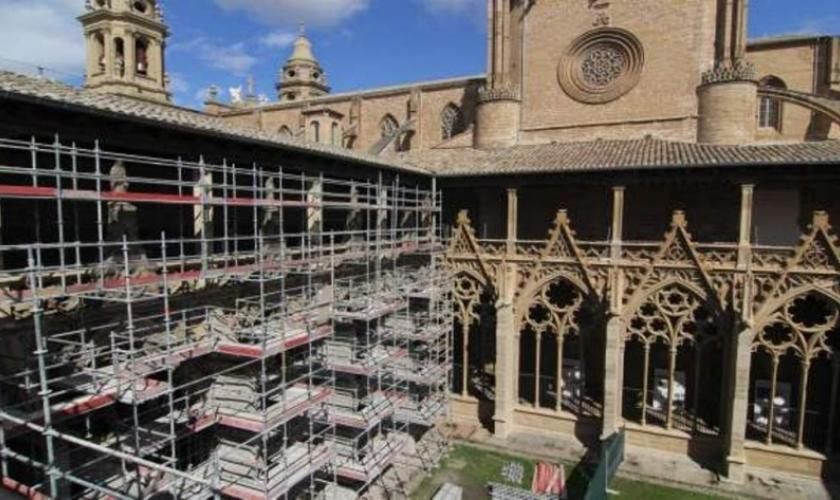 Visitas al claustro de la Catedral de Pamplona
